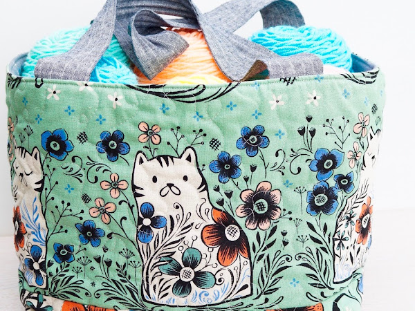SEWING: Porto Yarn Bag {Pattern}