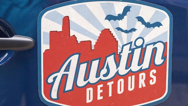 Austin Detours Tour Van Logo