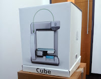 Giveaway for UK Citizen, Win Cube 3D Printer by Cartridgediscount