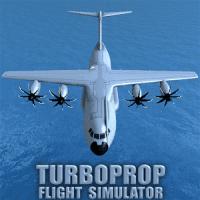 Turboprop Flight Simulator 3D Unlimited Money MOD APK