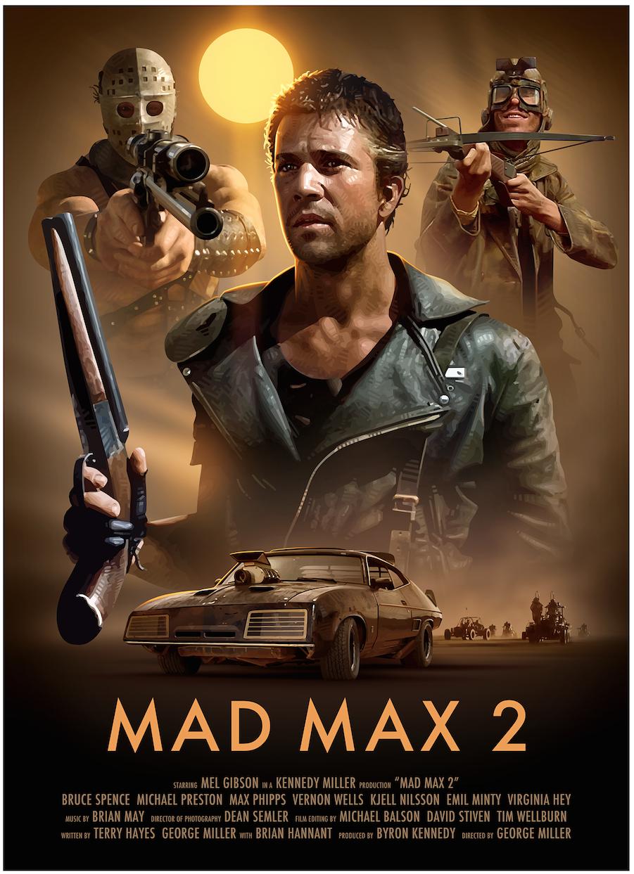 Mad Max 2 แมดแม็กซ์ 2 [HD][พากย์ไทย]