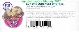 Baskin Robbins coupons for february 2017