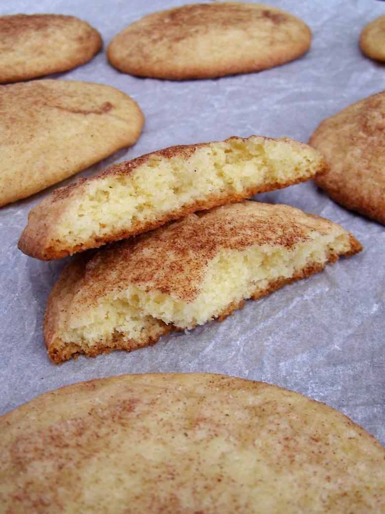 Snickerdoodles no baking soda no cream of tartar