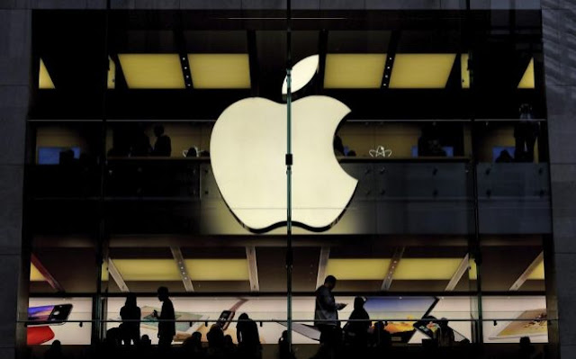 Alza de Apple en la bolsa