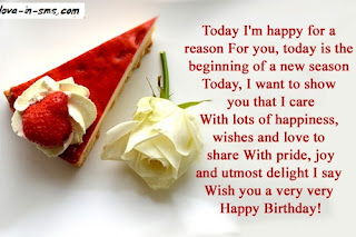 It is always very special, and comes with a lot of gratitude, good wishes and ... This is just to introduce you to a list of sweet and hbd birthday greetings for ...