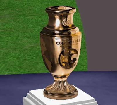 PES 6 Copa America Centenario Gold Trophy HD