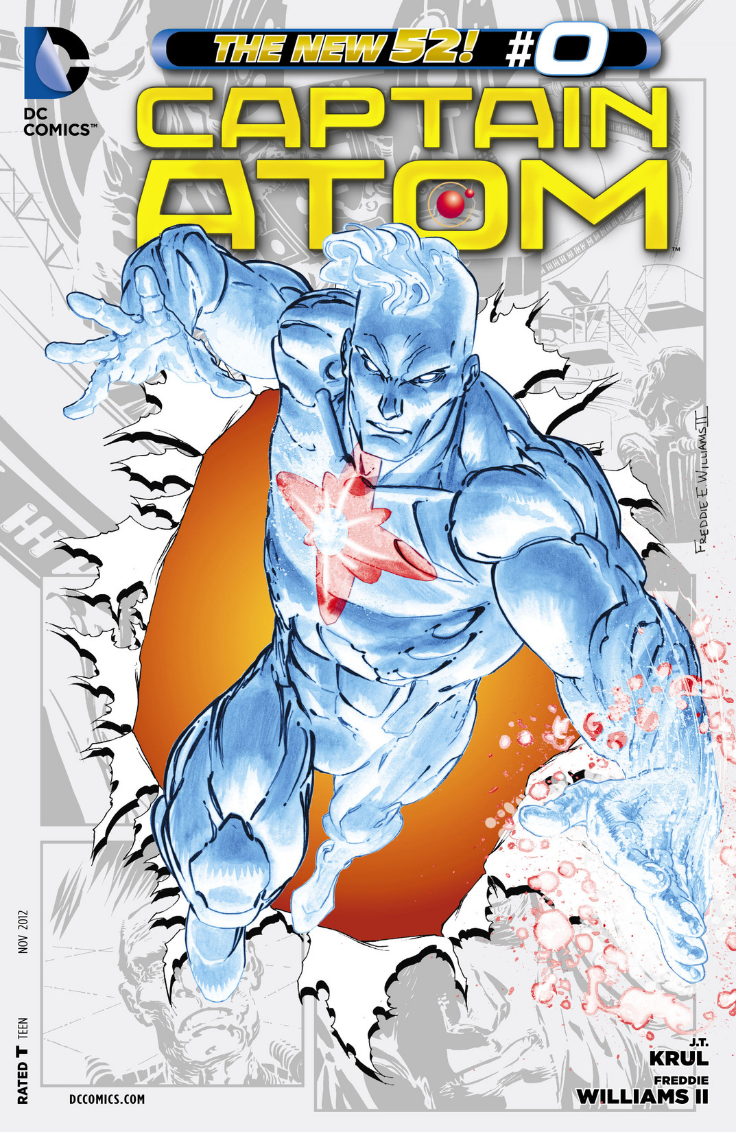 Captain Atom issue 00 - Page 1