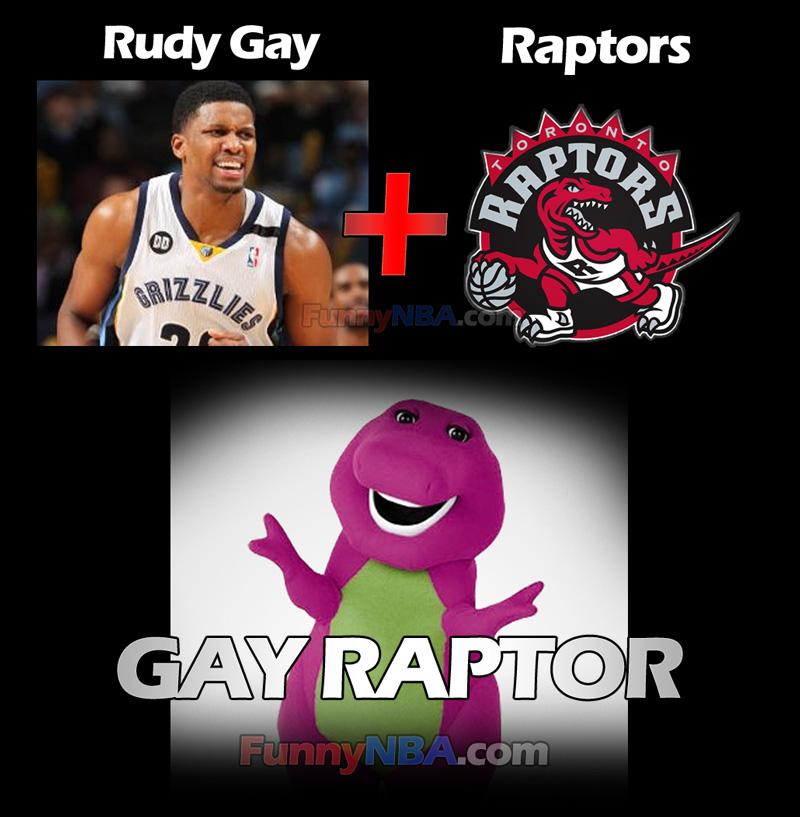 RUDY GAY RAPTORS