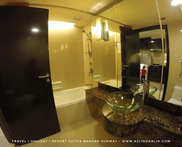 RESORT SUITES HOTEL BANDAR SUNWAY BILIK LUAS, SELESA DAN MURAH