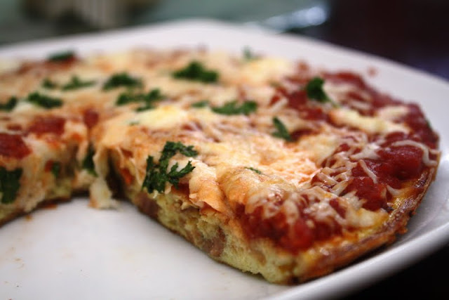 Roasted Red Pepper + Italian Sausage Frittata - Jessica In ...
