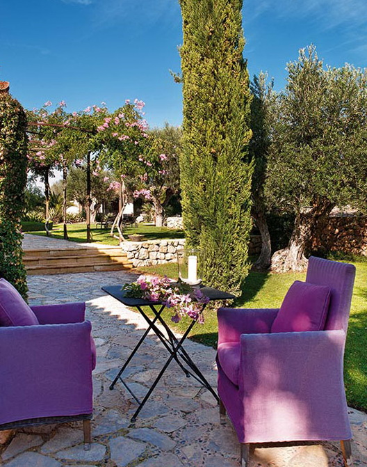 Bequemes warmes garten design modern ideen - Gartendekoration modern ...