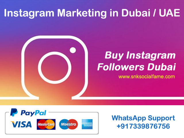 buy instagram followers Dubai