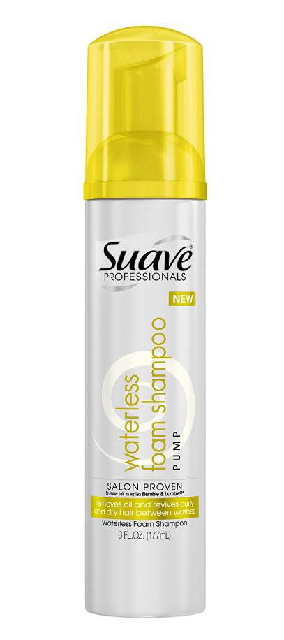 New Suave Professionals Dry Conditioner and Waterless Foam