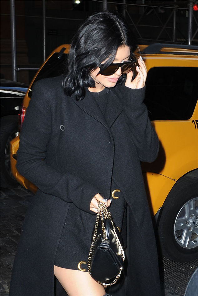 Kylie Jenner  About In Soho