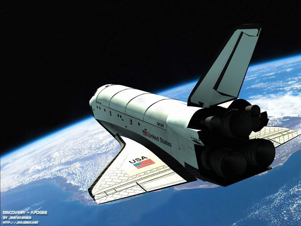 DÉCIO GÓES: Nave Espacial Discovery Faz Seu Voo Final