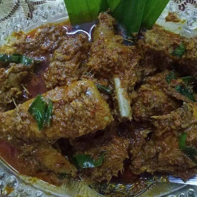 Resepi rendang ayam kampung