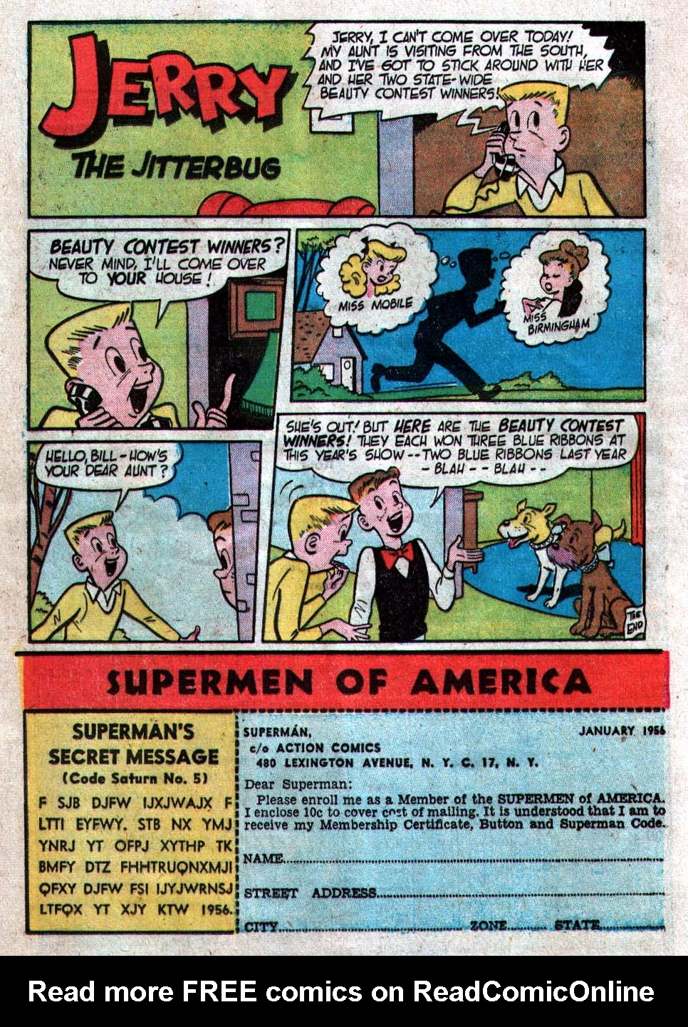 Read online Action Comics (1938) comic -  Issue #212 - 24