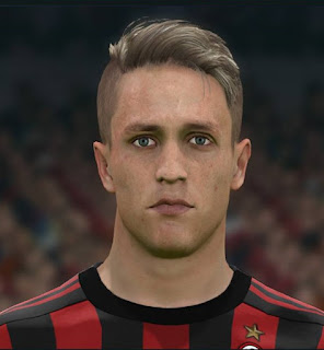 PES 2017 Faces Andrea Conti by Sameh Momen