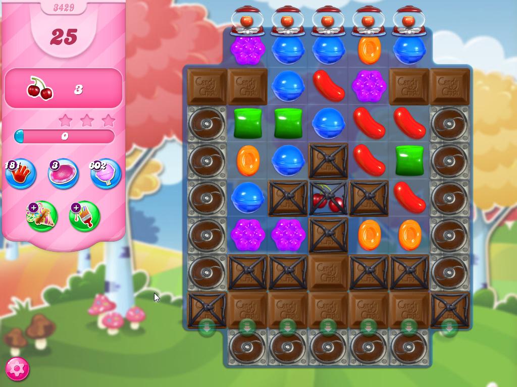 Candy Crush Saga level 3429