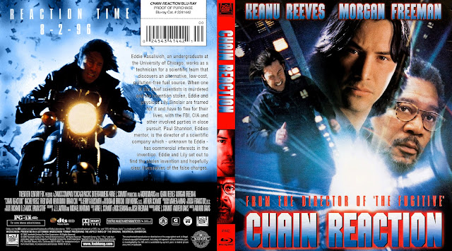 Chain Reaction Bluray Cover