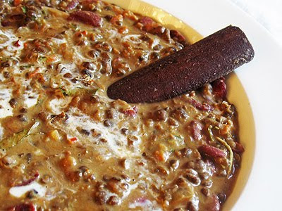 Dal Makhani (Black Gram and Kidney Bean Curry)
