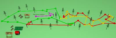 Mappa Percorsi Parco Avventura Corvetto