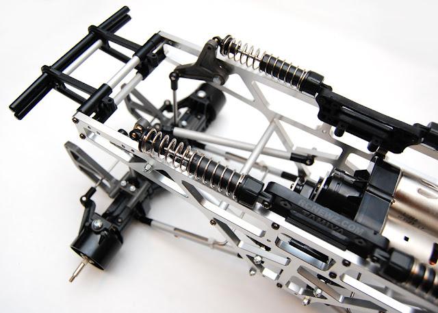 Tamiya TXT-1 cantilever shocks