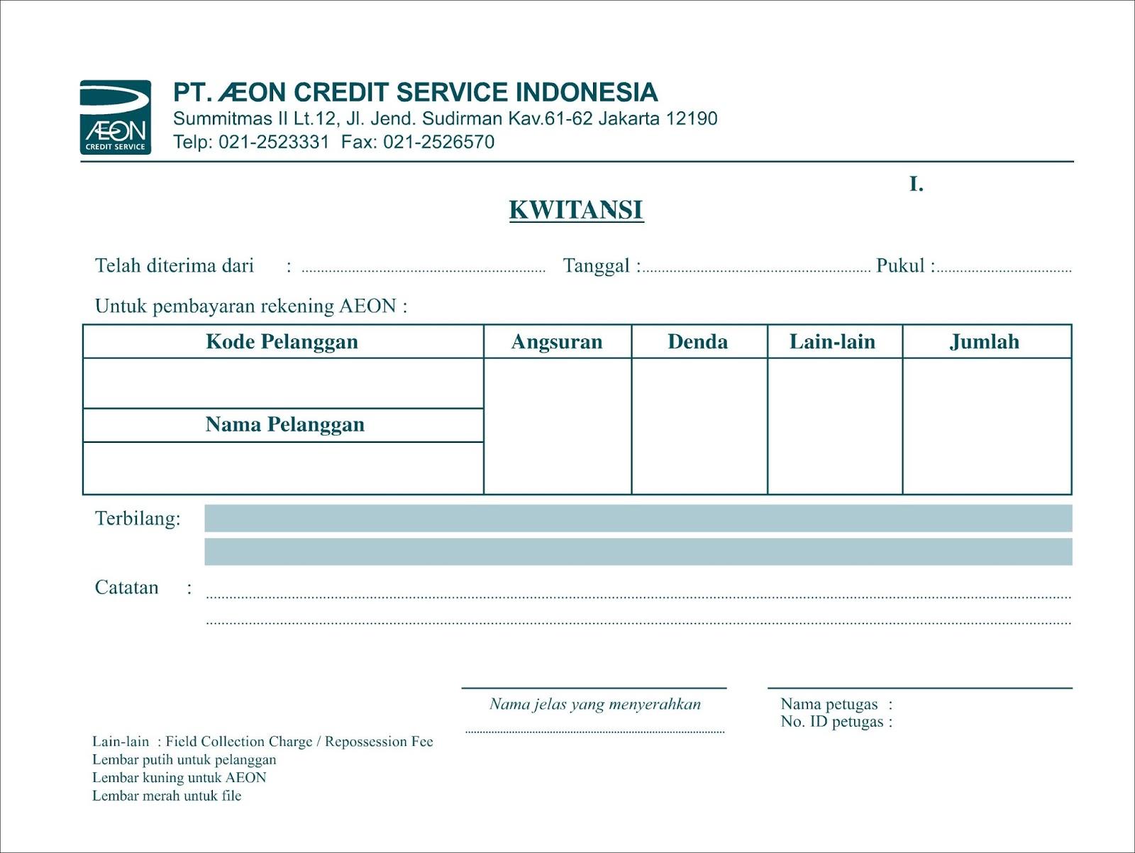 Contoh Kwitansi Rental Mobil Jakarta Lucu G