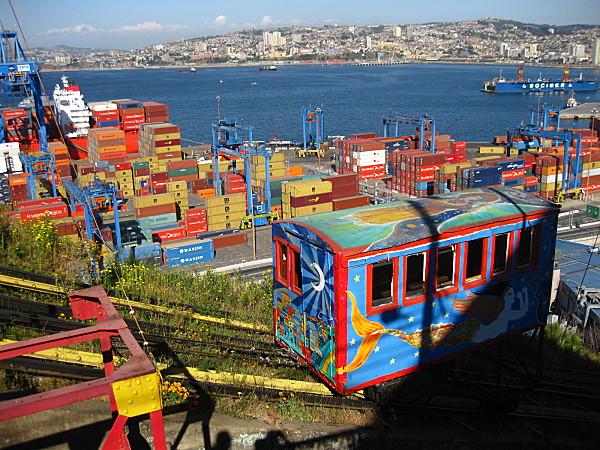 Passeios em Valparaíso, Chile