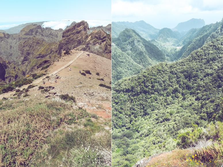 Punkt widokowy Balcões i Pico do Arieiro Madera