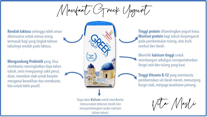 Ngemil Smart Jaman Now dengan Heavenly Blush Greek Yogurt