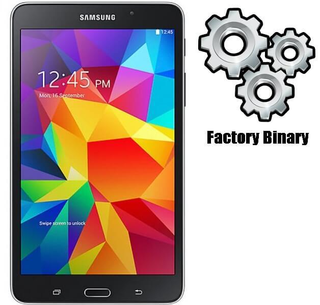 Samsung Galaxy TAB 4 403SC Combination Firmware