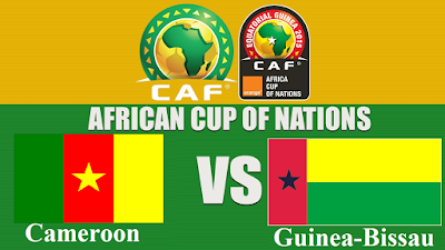 Cameroon  VS Guinea-Bissau African Nations Cup 2017 Gabon   Wednesday 18 Jan 2017 All free channels and frequencies