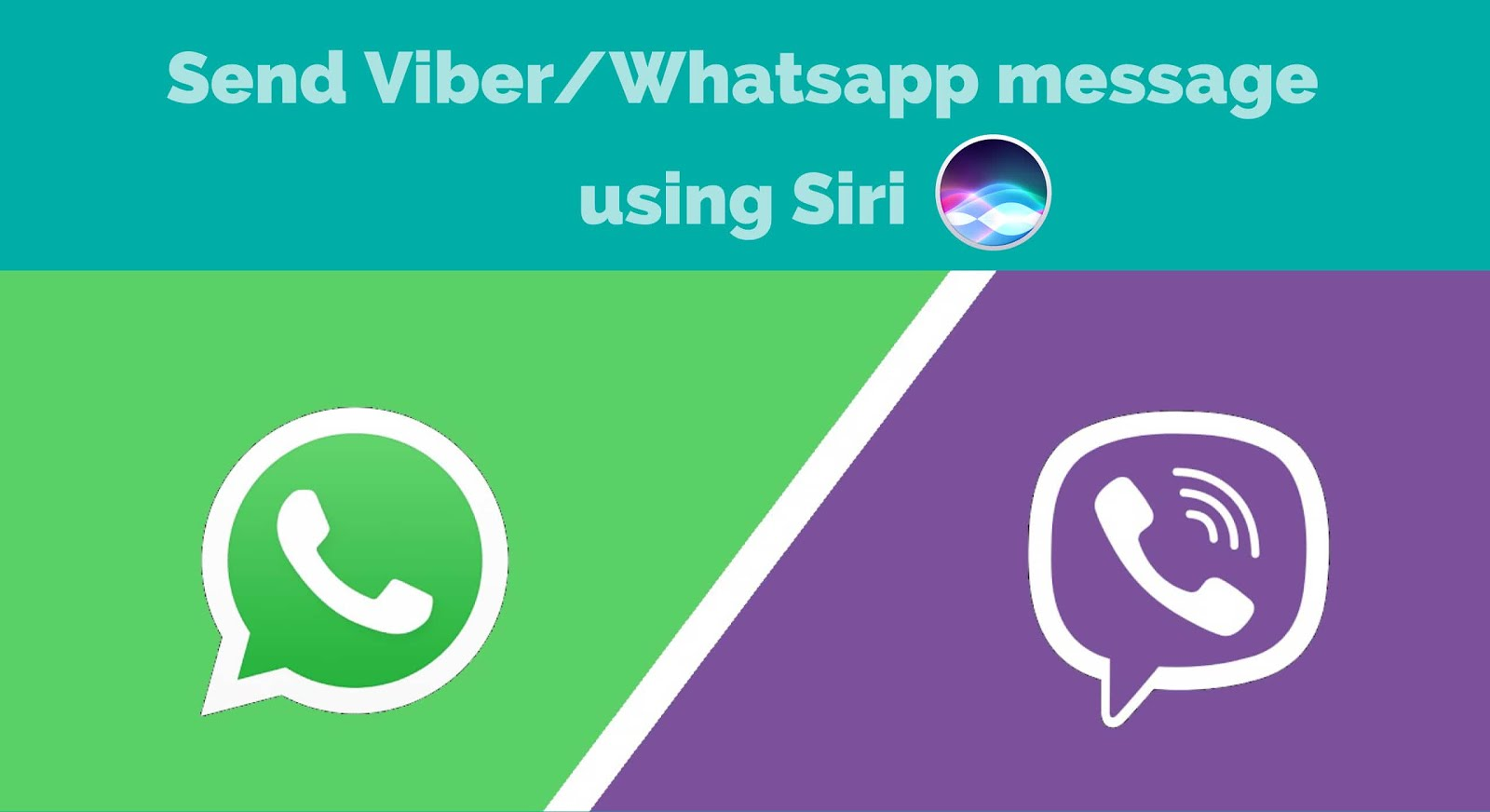 How to send a message on viberwhatsapp using siri in ios 10 how to send a message on viberwhatsapp using siri in ios 10 buycottarizona Gallery