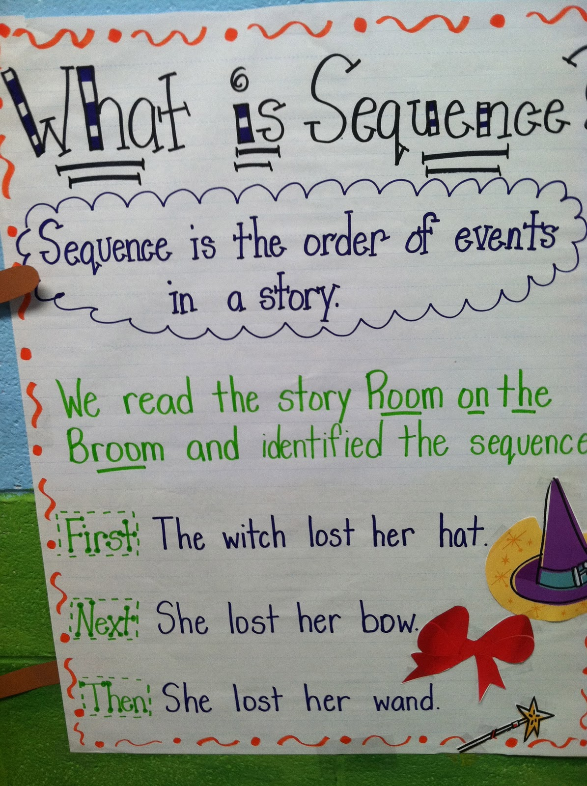 Life In First Grade Witch Pattern Eebie And Room On