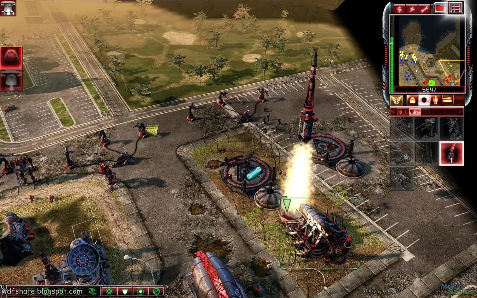 Command & Conquer 3 Tiberium Wars Full version