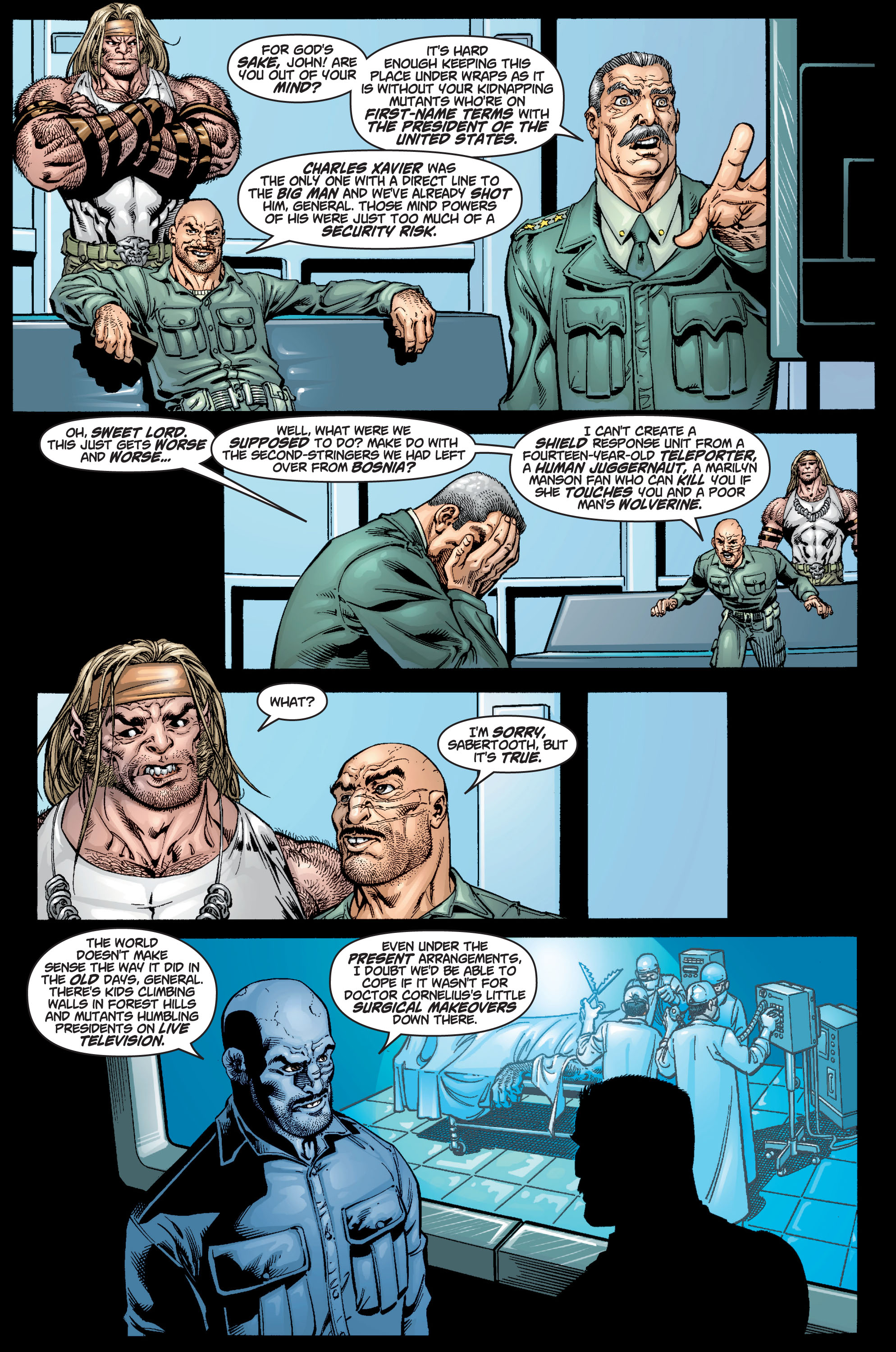 Read online Ultimate X-Men comic -  Issue #9 - 14