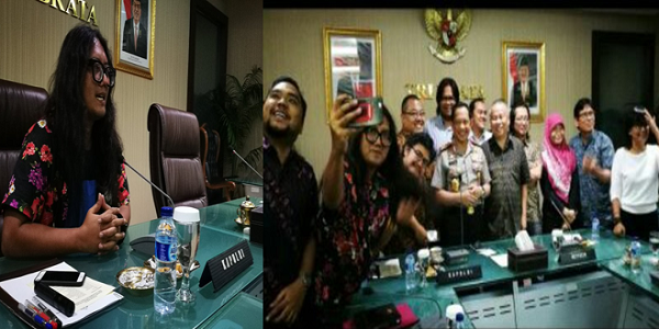 Beredar Foto Wefie Kapolri Dengan Ahoker, Netizen Pertanyakan Netralitas Tito Karnavian : kabar Terupdate Hari Ini