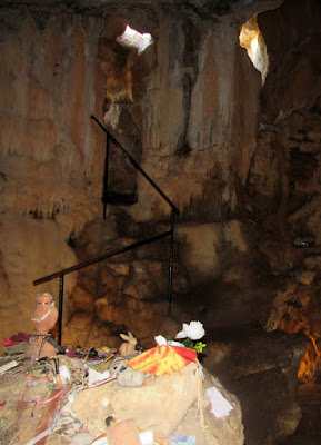 Cova des Culleram. Cueva de Tanit. Diosa Tanit en Ibiza