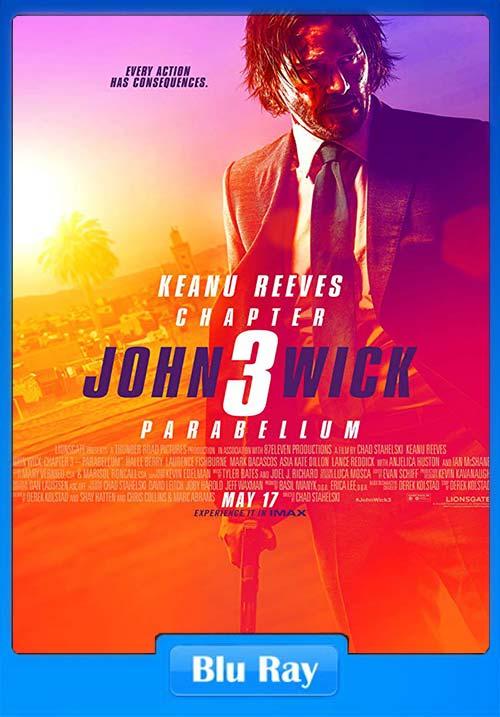 John Wick 3 Parabellum 2019 720p BRRip x264 | 480p 300MB | 100MB HEVC