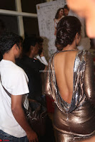 Actress Catherine Tresa in Golden Skin Tight Backless Gown at Gautam Nanda music launchi ~ Exclusive Celebrities Galleries 012.JPG