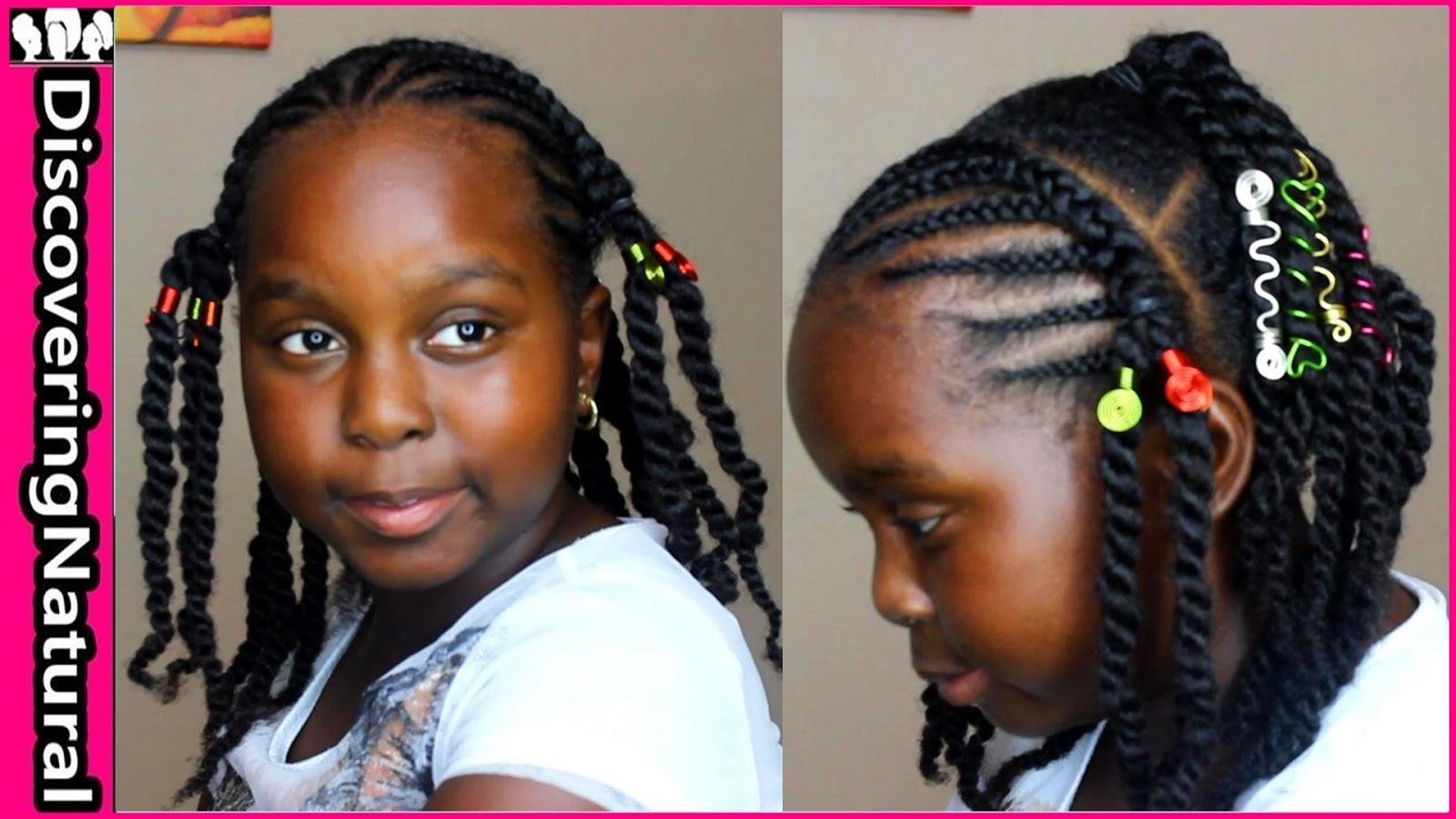 Discoveringnatural Kids Hairstyles Braids Natural Hair