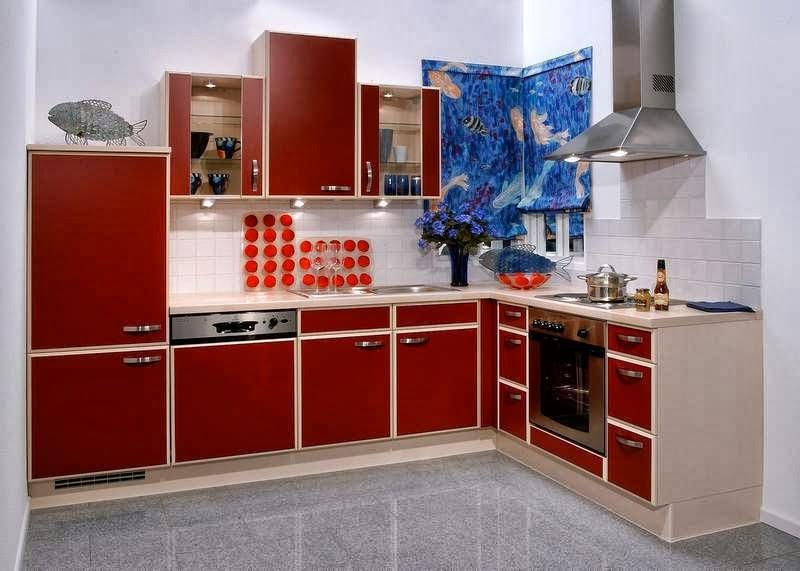 agr able et simple d coration de cuisine int rieur d cor decoration interior. Black Bedroom Furniture Sets. Home Design Ideas