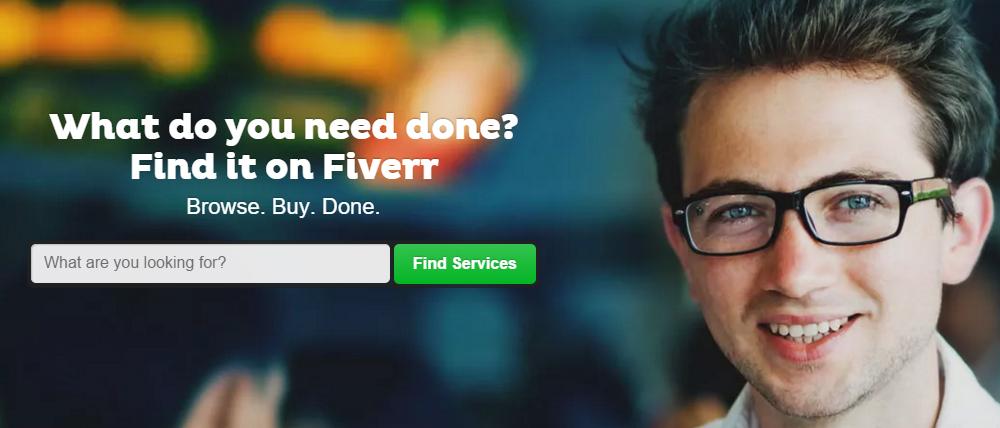 Fiverr แหล่งรวมงานฟรีแลนซ์