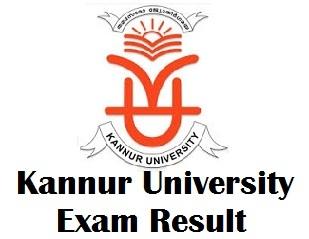 Kannur University Degree Result 2018