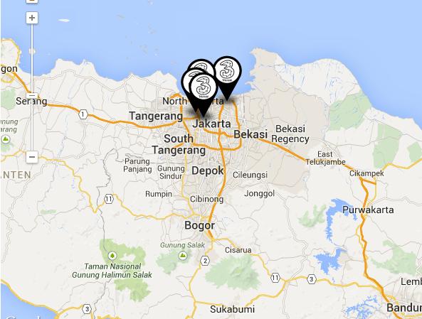 3store Jakarta - Alamat lengkap 3 store jakarta