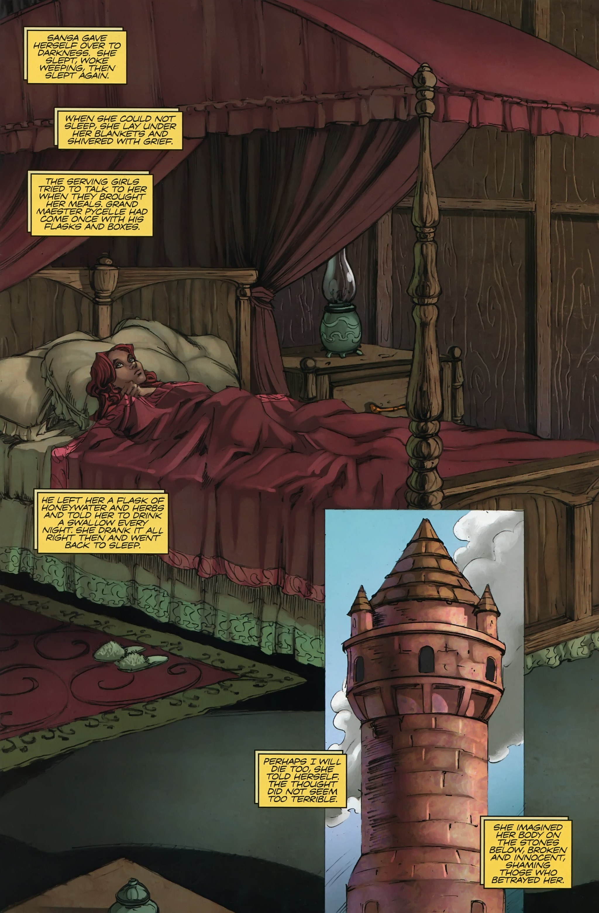 Read online A Game Of Thrones comic -  Issue #22 - 3