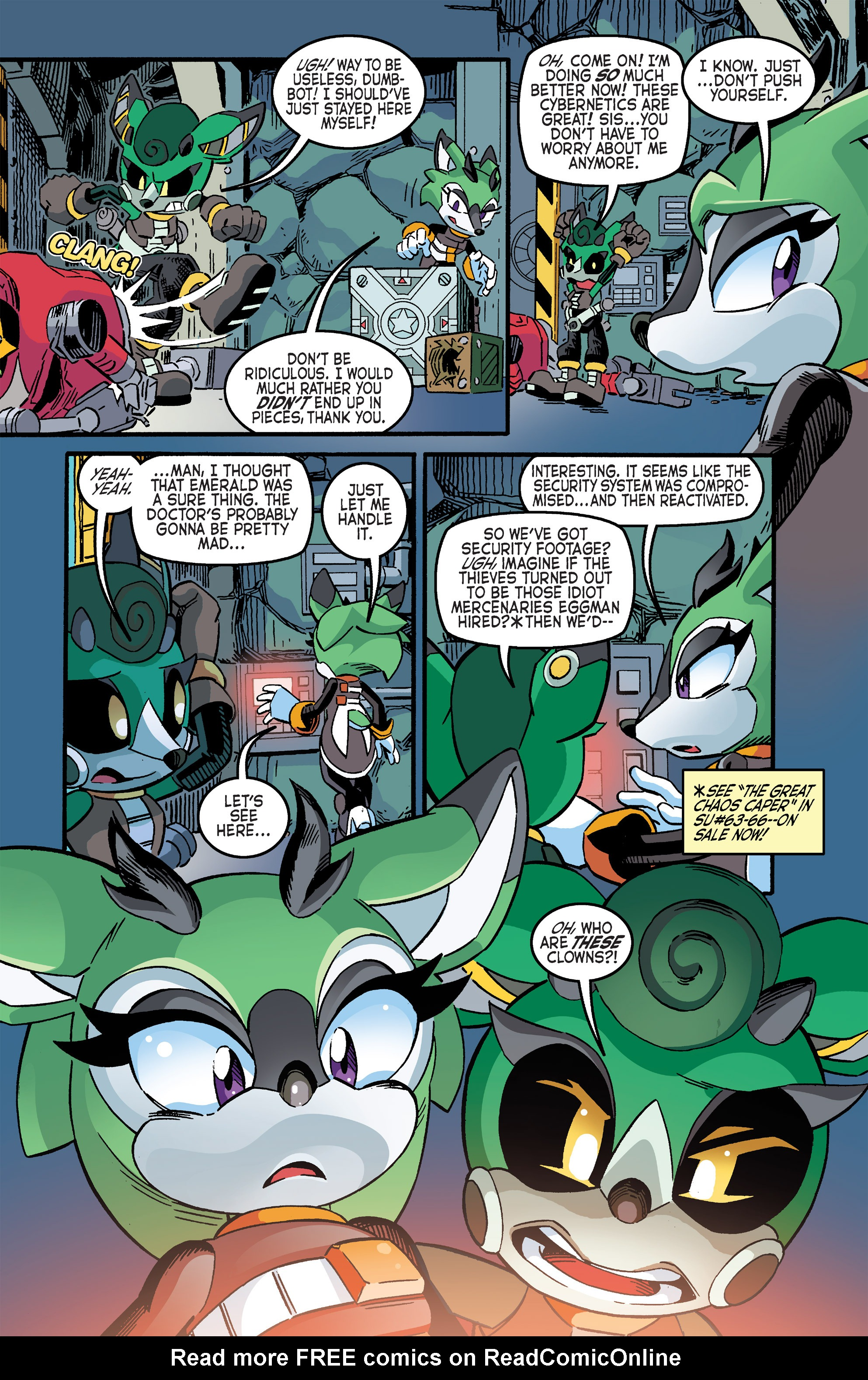 Read online Sonic The Hedgehog comic -  Issue #263 - 19