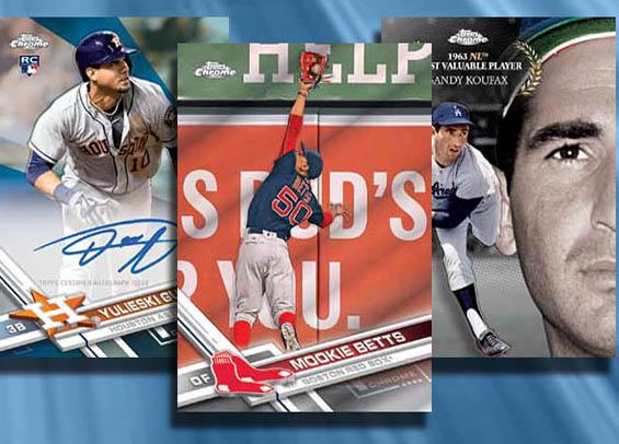 Baseball Card Box Break Topps 2017 Chrome Baseball