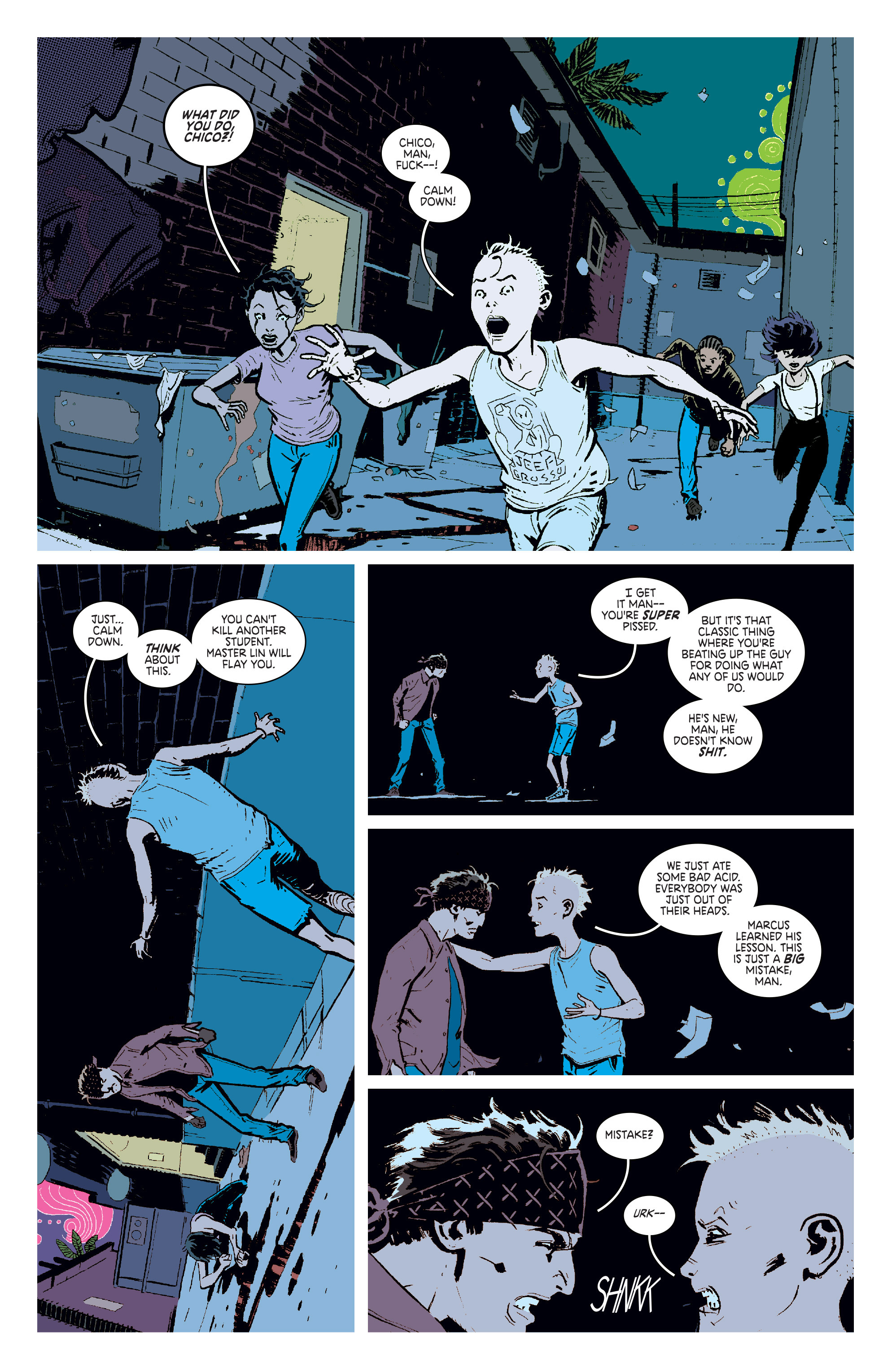 Read online Deadly Class comic -  Issue #6 - 10